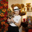 Semi Exclusif - Caroline Vigneaux lors du vernissage Jacky Jayet et ses Ours à la Galerie Art and Sound, Paris le 25 Juin 2020. © Marc Ausset Lacroix / Bestimage