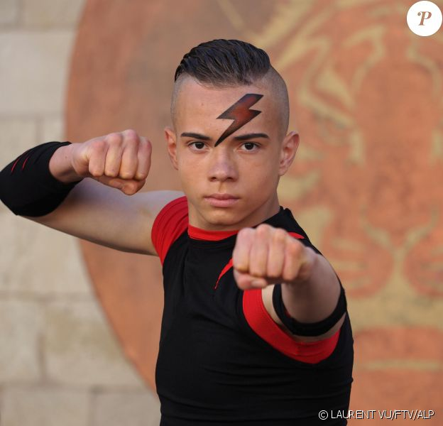 "Little Boo, personnage de ""Fort Boyard"", photo de l'édition 2020"