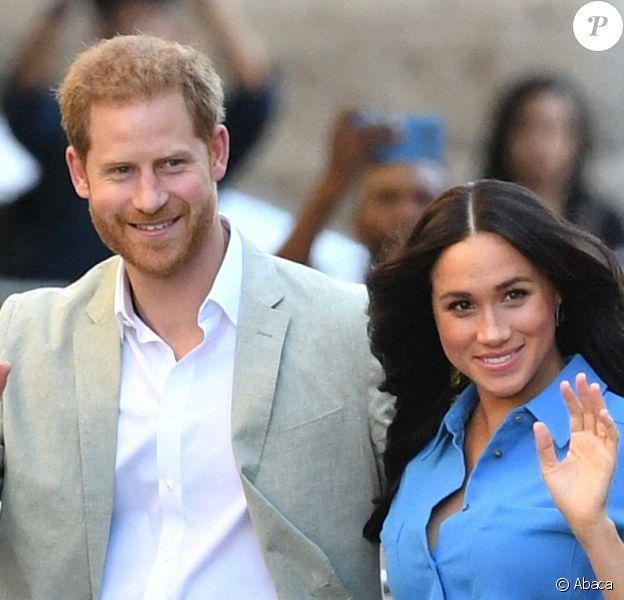 Le prince Harry et Meghan Markle, duc et duchesse de Sussex, en septembre 2019 à Londres.