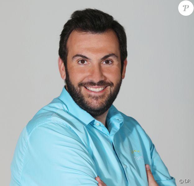 """Laurent Ournac, ambassadeur du nouveau réseau de campings directement inspiré de la série télévisée """"Camping Paradis""""."""