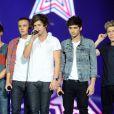 One Direction sur scène le 8 décembre 2012.