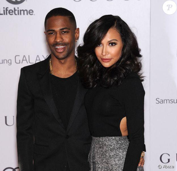 Naya Rivera et Big Sean lors de l'événement Entertainment Breakfast au Beverly Hills Hotel de Los Angeles, en décembre 2013.