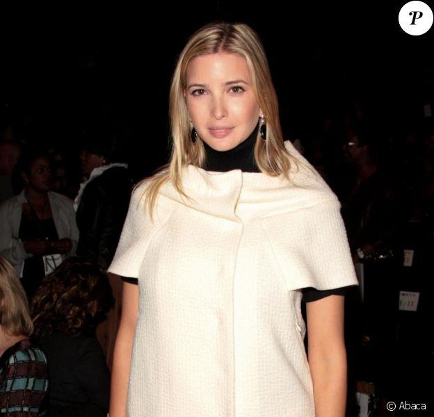 Ivanka Trump radieuse à la Fashion Week new-yorkaise le 10/10/09