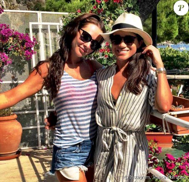 Jessica Mulroney et Meghan Markle en Italie. Août 2016.