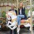 Exclusif - Rendez-vous avec Laura Smet et Marcel Campion au jardin des Tuileries à Paris le 18 juin 2018. © Olivier Borde / Bestimage