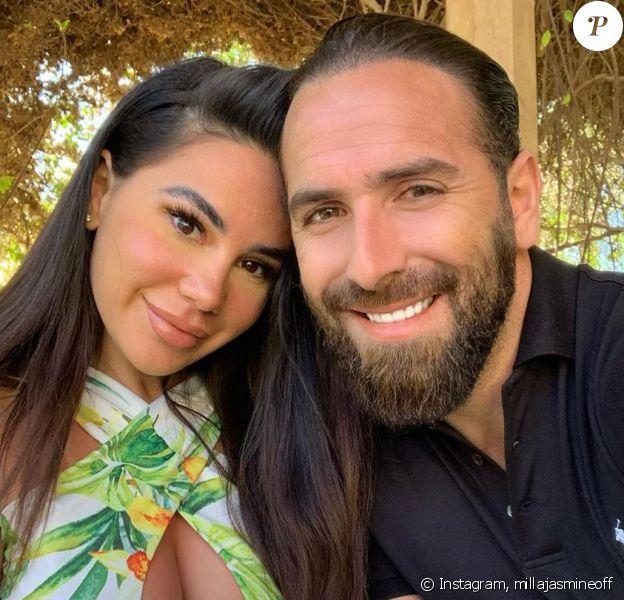 Mujdat et Milla Jasmine à Marrakech, le 24 février 2020