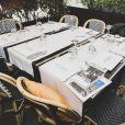 Exclusif - Deuxième édition des Déjeuners d'Eté du restaurant le Récamier. Paris, le 16 Juillet 2020. ©Jack tribeca / Bestimage