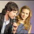 Scarlett Johansson et Pete Yorn présentent leur album  Break Up  au Bon Marché, le 11 09 09