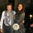 Mariage de Barbara Feltus et Arne Quinze, le 12 septembre 2009.