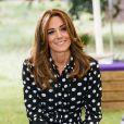 """Kate Middleton dans l'émission anglaise """"BBC Breakfast"""", diffusée le 14 juillet 2020."""