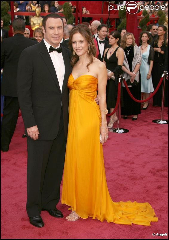 John Travolta et sa femme Kelly Preston