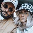 """Jérémy Brun, ex-candidat de """"Top Chef"""" (M6) en 2014 et """"Les Anges"""" (NRJ12) en 2019, annonce la grossesse de sa compagne et future épouse Alexia le 28 juillet 2020."""