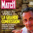 """Nicolas Sarkozy dans le magazine """"Paris Match"""" du 30 juillet 2020."""