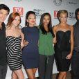Tout le casting de Melrose Place lors de la soirée Paley Fest au Paley Center de Beverly Hills afin de représenter Melrose Place le 14 septembre 2009
