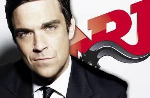Robbie Williams a enflammé le 6/9 d'NRJ et balancé à Nikos :