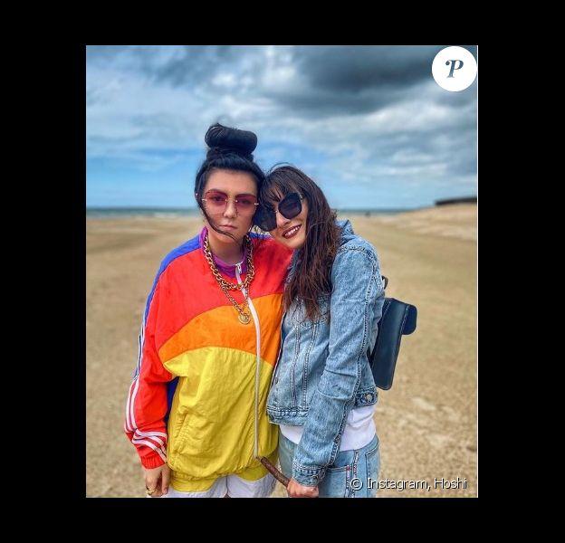 Hoshi et sa compagne Gia Martinelli sur Instagram. Le 27 juin 2020.
