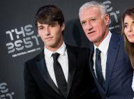 Didier Deschamps : Tout sourire, torse nu et bronzé avec son fils Dylan