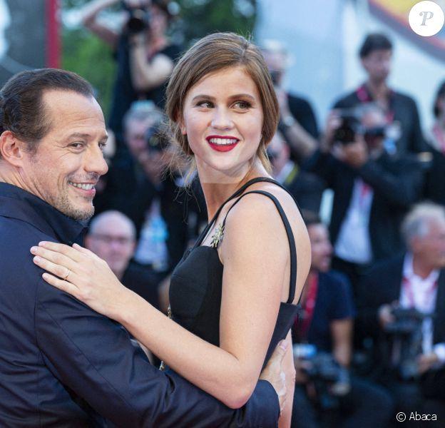 Stefano Accorsi et Bianca Vitali le 1er septembre 2019 à Venise.