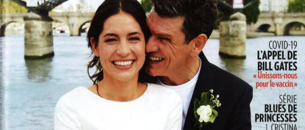 Marc Lavoine bien plus âgé que sa femme Line Papin :
