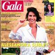 """Alessandra Sublet en couverture de """"Gala"""", le 6 août 2020."""