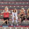 Exclusif - Dominique Mérot, Hélène Serres, Nathalie Portal, Vanina Sicurani - Et Pendant Ce Temps Simone Veille ! au Festival de Ramatuelle le 6 aout 2020. © Cyril Bruneau / Festival de Ramatuelle / Bestimage