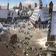 Un avant-goût du parc d'attractions Harry Potter