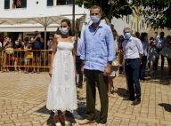 Letizia et Felipe d'Espagne : Couple soudé au soleil, en pleine tempête