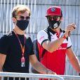 Pierre Gasly, AlphaTauri, and Antonio Giovinazzi, Alfa Romeo - FORMULE 1 : Grand prix de Grande-Bretagne à Silverstone le 31 juillet 2020. © Mortorsport / Panoramic / Bestimage