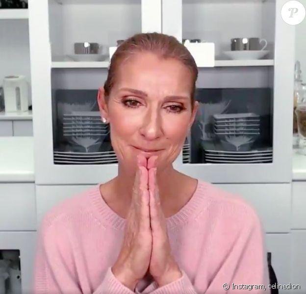 Céline Dion sur Instagram, le 15 avril 2020.
