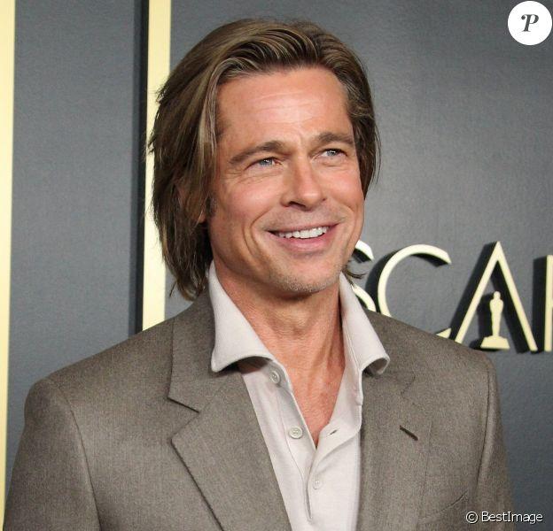 Brad Pitt au 92ème évènement annuel des Academy Awards Nominees au Ray Dolby Ballroom dans le quartier de Hollywood à Los Angeles, le 27 janvier 2020