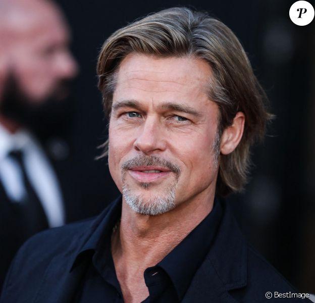 """Brad Pitt - Les célébrités assistent à la première de """"Ad Astra"""" à Los Angeles."""