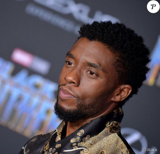 "Chadewick Boseman à la première de ""Black Panther"" à Los Angeles."