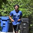 Exclusif - Chadwick Boseman fait son jogging à Los Angeles, le 13 juin 2020. @The ImageDirect / Bestimage