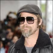 Mais oui : c'est bien Brad Pitt sous cette vilaine barbichette !