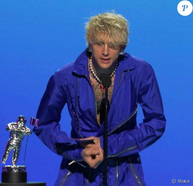 Machine Gun Kelly lors des MTV Video Music Awards 2020 à Los Angeles, le 30 août 2020.
