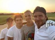 David Beckham : Son fils Romeo, 18 ans, presque aussi grand que lui !