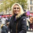 Alexandra Lamy - De nombreuses artistes et personnalités marchent contre les violences sexistes et sexuelles (marche organisée par le collectif NousToutes) à Paris le 23 Novembre 2019 © Coadic Guirec / Bestimage