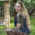 Carole Baskin, fondatrice de Big Cats Rescue, recueille des animaux élevés en captivité qui ne peuvent plus retourner à l'état sauvage le 18 mars 2020 à Tampa, Floride. Netflix va produire un documentaire sur son action et sa vie d'engagement qui lui a valu des menaces de mort.