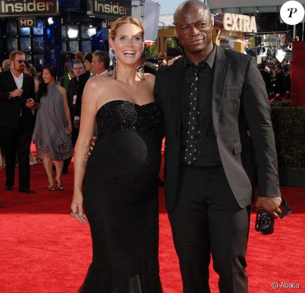 Le couple Heidi Klum et Seal a fait sensation aux Emmy Awards le 20/09/09