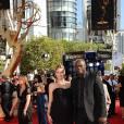 Heidi Klum et Seal arrivent à la 61e cérémonie des Emmy Awards au Nokia Theater de Los Angeles le 20 septembre 2009