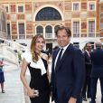 Michael Weatherly et sa femme Bojana Jankovic - Cocktail de la 57ème édition du Festival de Télévision de Monte-Carlo, Monaco, le 18 juin 2017. © Olivier Huitel/Pool Monaco/Bestimage