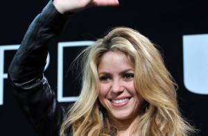 Shakira rayonnante, vous envoie de tendres baisers... d'Allemagne !