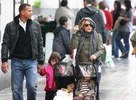Entre Kate Hudson et Alex Rodriguez, c'est du très sérieux ! Balade en famille... avec leurs enfants !