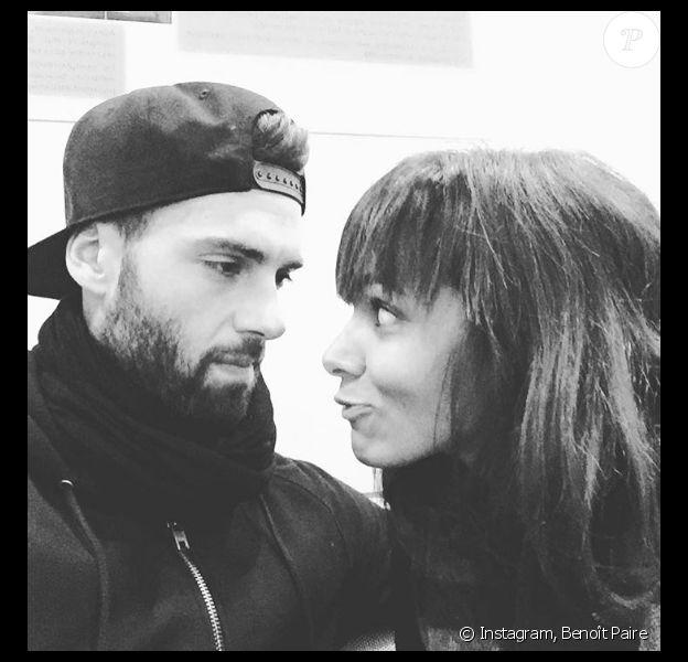 Benoît Paire et Shy'm posent sur Instagram en octobre 2015.