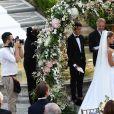 Mariage de Sylvie Meis et Niclas Castello à la Villa Cora à Florence, Italie. Le 19 septembre 2020.