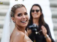 Sylvie Meis a épousé Niclas Castello, découvrez la robe immense de la mariée !