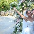 Mariage de Sylvie Meis et Niclas Castello à Florence le 19 septembre 2020.