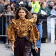 Zendaya - Les célébrités arrivent à l'émission Jimmy Kimmel Live! pour faire la promotion du film Spider-Man: Far from Home à Hollywood, Los Angeles, le 9 mai 2019