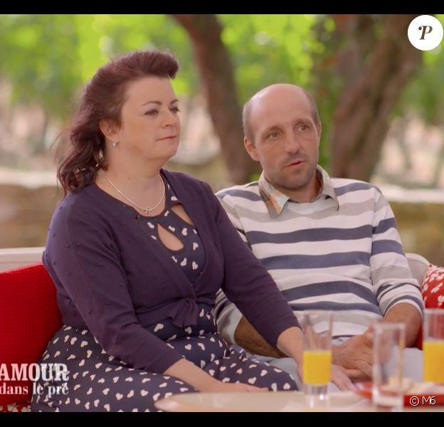 """Maud et Laurent dans le bilan de """"L""""amour est dans le pré 2019"""" sur M6."""