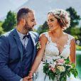 """Photos du mariage de Claire et Sébastien de """"L'amour est dans le pré"""", saison diffusée en 2015."""